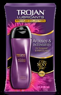 Trojan Arouses & intensifies gel bôi trơn và se khít âm đạo