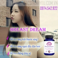 Viên uống hỗ trợ nở ngực Breast Dream